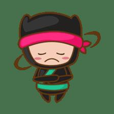 Ryuji, the funny little ninja sticker #916471