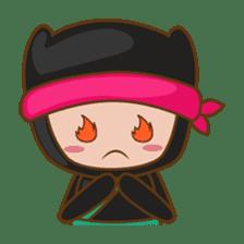 Ryuji, the funny little ninja sticker #916473