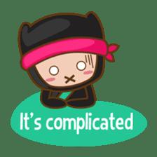 Ryuji, the funny little ninja sticker #916477
