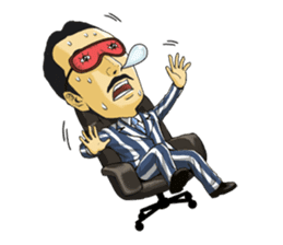Mr.FIGURE, the enthusiastic business man sticker #918058