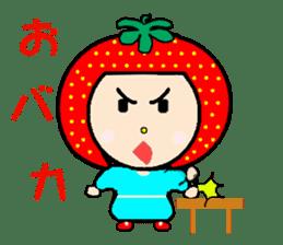 Happy smile sisters. strAwberry&Peach sticker #918175