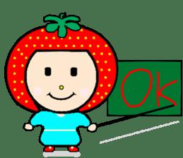 Happy smile sisters. strAwberry&Peach sticker #918185