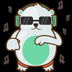 Haku, the cute chubby polar bear