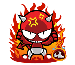 DADA Devil Devil sticker #918601