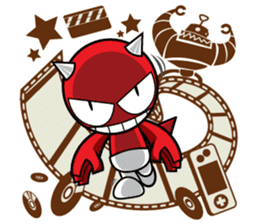 DADA Devil Devil sticker #918635