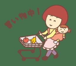 Mom & wives support sticker sticker #920070