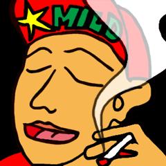 Smoking area's fairy MOKTA