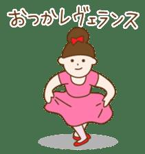 Mademoiselle Pointe and friends sticker #921121