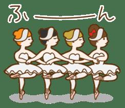 Mademoiselle Pointe and friends sticker #921128