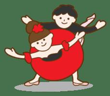 Mademoiselle Pointe and friends sticker #921142