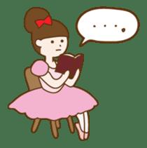 Mademoiselle Pointe and friends sticker #921143
