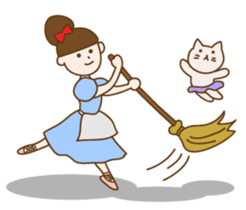 Mademoiselle Pointe and friends sticker #921144