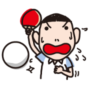 สติ๊กเกอร์ไลน์ ping-pong lovers