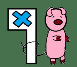 Neet Tiger and Neet Pig sticker #924953