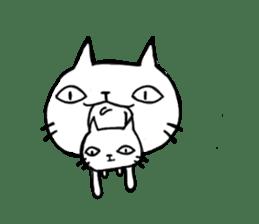 Sometimes cats and kittens sticker sticker #925342