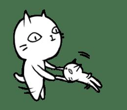 Sometimes cats and kittens sticker sticker #925355