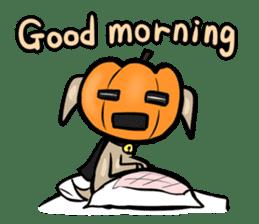 Pumpkin dog(English version) sticker #926319