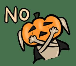 Pumpkin dog(English version) sticker #926329