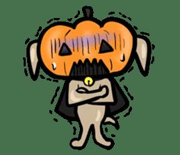 Pumpkin dog(English version) sticker #926330