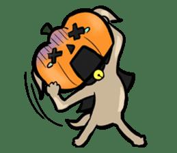 Pumpkin dog(English version) sticker #926332