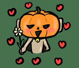 Pumpkin dog(English version) sticker #926333