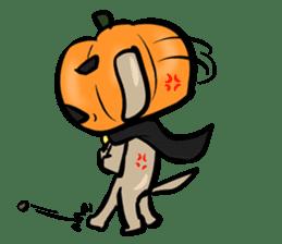 Pumpkin dog(English version) sticker #926334