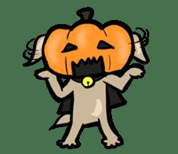 Pumpkin dog(English version) sticker #926336