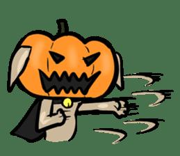 Pumpkin dog(English version) sticker #926337