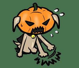 Pumpkin dog(English version) sticker #926341