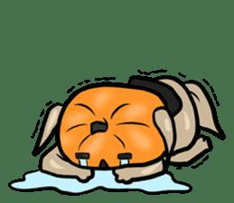 Pumpkin dog(English version) sticker #926342