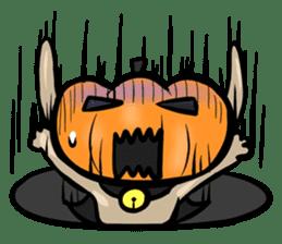 Pumpkin dog(English version) sticker #926349