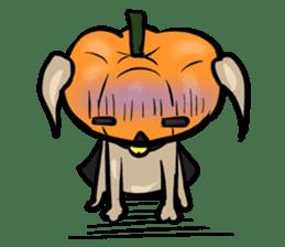 Pumpkin dog(English version) sticker #926350