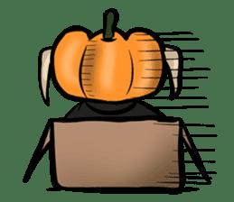 Pumpkin dog(English version) sticker #926355