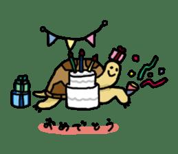 tortoises sticker #926404