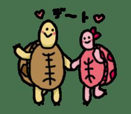tortoises sticker #926429
