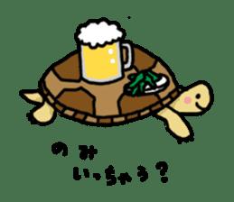 tortoises sticker #926431