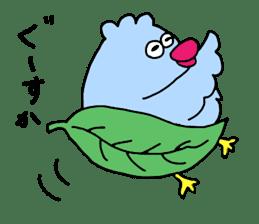 Easygoing birds. sticker #926523
