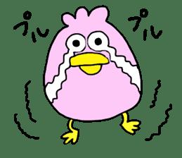 Easygoing birds. sticker #926527