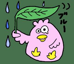 Easygoing birds. sticker #926528