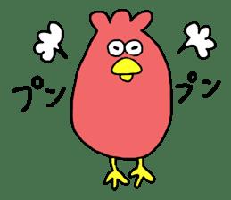 Easygoing birds. sticker #926540