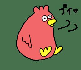 Easygoing birds. sticker #926541