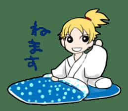 hatamoto! sticker #928204