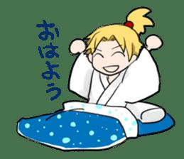 hatamoto! sticker #928205