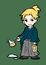 hatamoto! sticker #928221