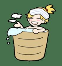 hatamoto! sticker #928234