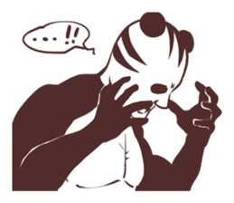 Tora-Panda2 sticker #928295