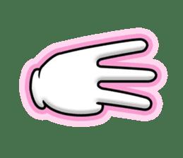 Gloves 2 sticker #930682