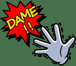 Gloves 2 sticker #930688