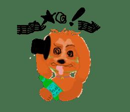 Dookdik-shizu lovely sticker #931014