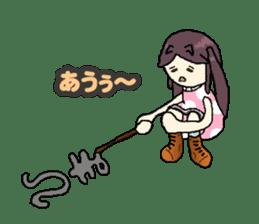 onepi-girl sticker #933441